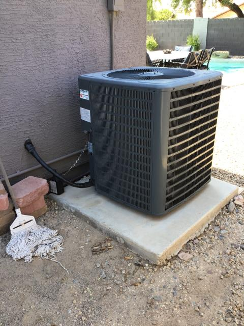 Glendale, AZ - In Glendale, AZ:  PREVENTATIVE MAINTENANCE-  Completed maintenance service in accordance with maintenance checklist. At time of service, customer wanted to address airflow issues with front office. Recommend window treatments as well as modifications of current duct system. In addition, they are having an issue with the Ecobee not responding to commands and resetting. During service, I initially had this same issue. The thermostat is not responding to touch controls; would recommend replacing thermostat. Service and estimates for repair complete.