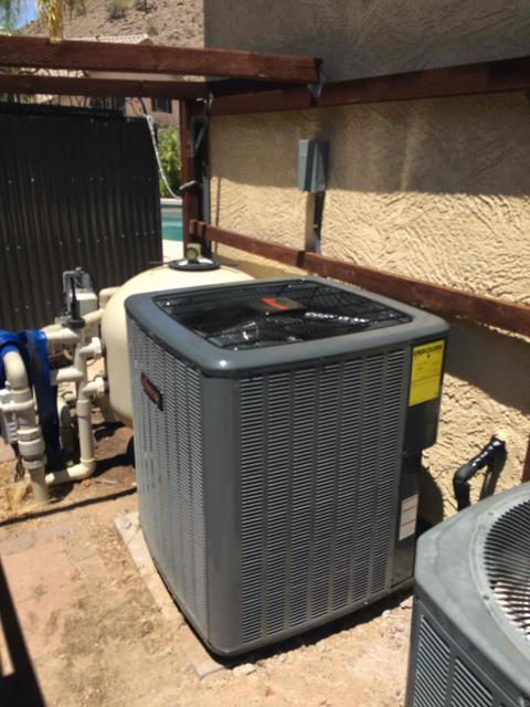 Phoenix, AZ - In Phoenix, AZ:  QUALITY INSPECTION-  Performed quality inspection on newly installed HVAC system. Upon departure, unit is working properly and within manufacturer specifications. Service complete.