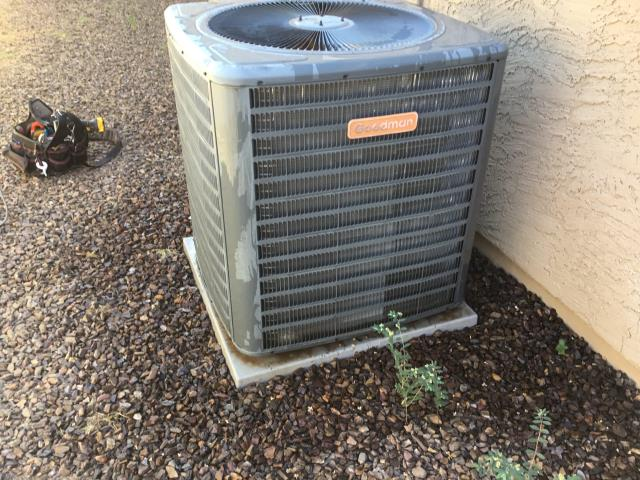 Goodyear, AZ - In Goodyear, AZ:  DIAGNOSTIC-  Found compressor not running. Upon further inspection, found compressor is bad. Amps running at 50.05; need to call Geary tomorrow to find out warranty on system and availability of the compressor. Service complete.