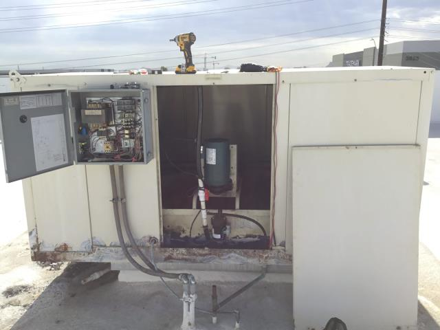 Phoenix, AZ - In Phoenix, AZ:  DIAGNOSTIC-  Found system not running. Upon further inspection, found 2 blown 5 amp fuses. Installed 2 new fuses. Cycled system on; all is running properly. Amps on motor are really good. No issues with motor as motor is new. Upon departure, system is running within manufacturer specifications. Service complete.