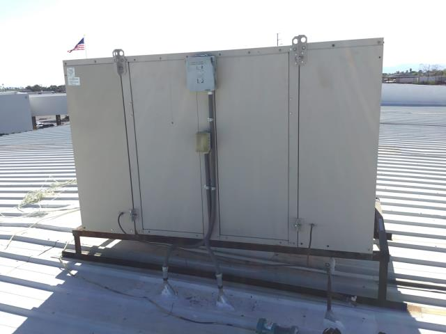 Glendale, AZ - In Glendale, AZ:  DIAGNOSTIC-  Upon arrival found units #5 and #6 off for conference room. Found y terminal on unit #6 intermittently dropping voltage. Cleaned wiring, checked charge and unit is working properly. Unit #5; compressor has failed. Estimate given to replace unit #5.