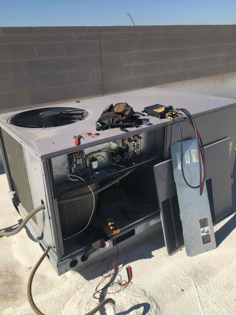 Avondale, AZ - In Avondale, AZ:  DIAGNOSTIC-  Upon arrival, cycled unit into cooling mode. Found unit cycling on and off very constant. Found power to Y terminal voltage cutting in and out. Replaced nest thermostat. Upon departure, unit is working properly and within manufacturer specifications. Service complete.