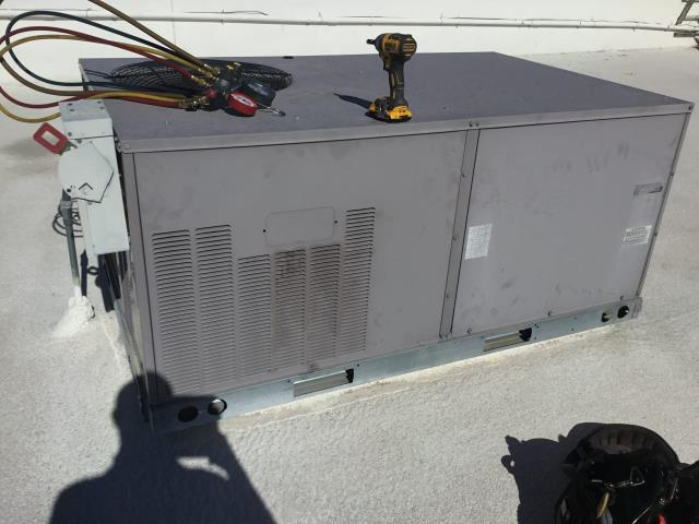 Wickenburg, AZ - In Wickenburg, near West Wickenburg Way and North Vulture Mine Road performing a diagnostic on a commercial Carrier package heat pump. Upon arrival, found thermostat to be blank due to blown fuse; capacitor blown apart and motor grounded out. Installed new 1/4 Horse 1075 460 volt motor and new 7.5/440 run capacitor with new fuse, and system is now running properly and within manufacturer specifications.