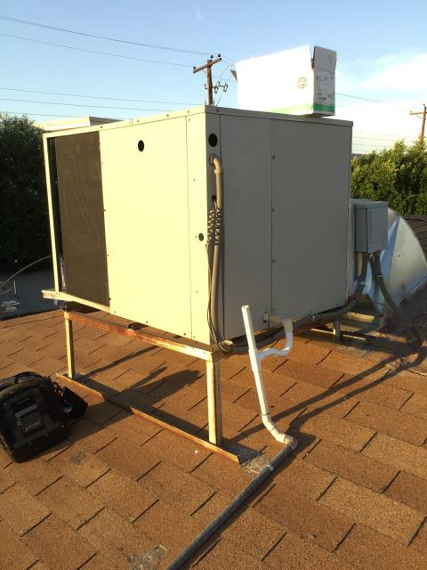 Scottsdale, AZ - In Scottsdale, near East Fairmount Avenue and North 80th Place performing a diagnostic on a Westinghouse package heat pump. I found that system was low on Freon charge. Indoor coil is leaking refrigerant due to corrosion. Performed a recharge and upon departure, system is working properly and within specifications.