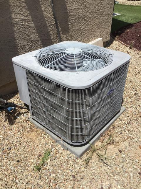 Peoria, AZ - In Peoria, near Camino 'a Lago Park giving a free estimate to new customer. While there, performed a diagnostic and also a leak search. Left customer with estimate pricing.