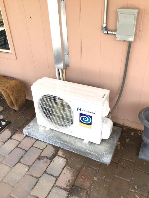 Peoria, AZ - In Peoria, near West Pinnacle Peak Road and North 90th Drive performing routine seasonal maintenance for 2 Hessaire mini split condensers. Unable to detect any mechanical issues with condensers. With routine maintenance, systems should stay in good working order.