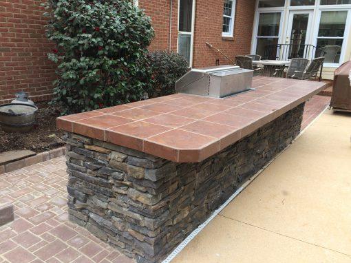 Greenville, SC - Outdoor kitchen remodel