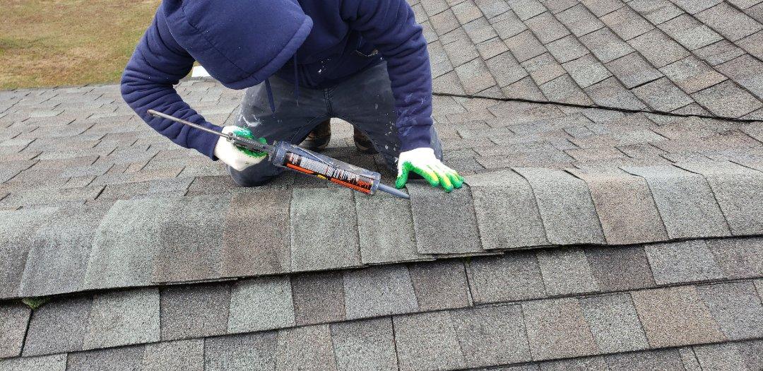 Monrovia, MD - Roof repairs.