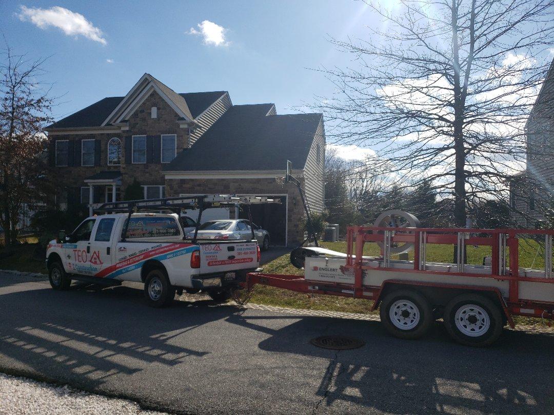 Ellicott City, MD - Roof repairs