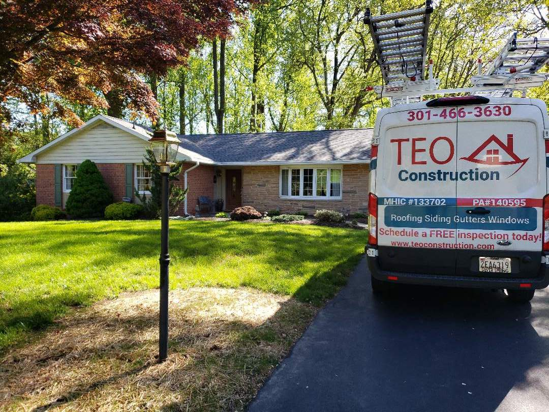 Ellicott City, MD - An other roof replaced by Teo Construction