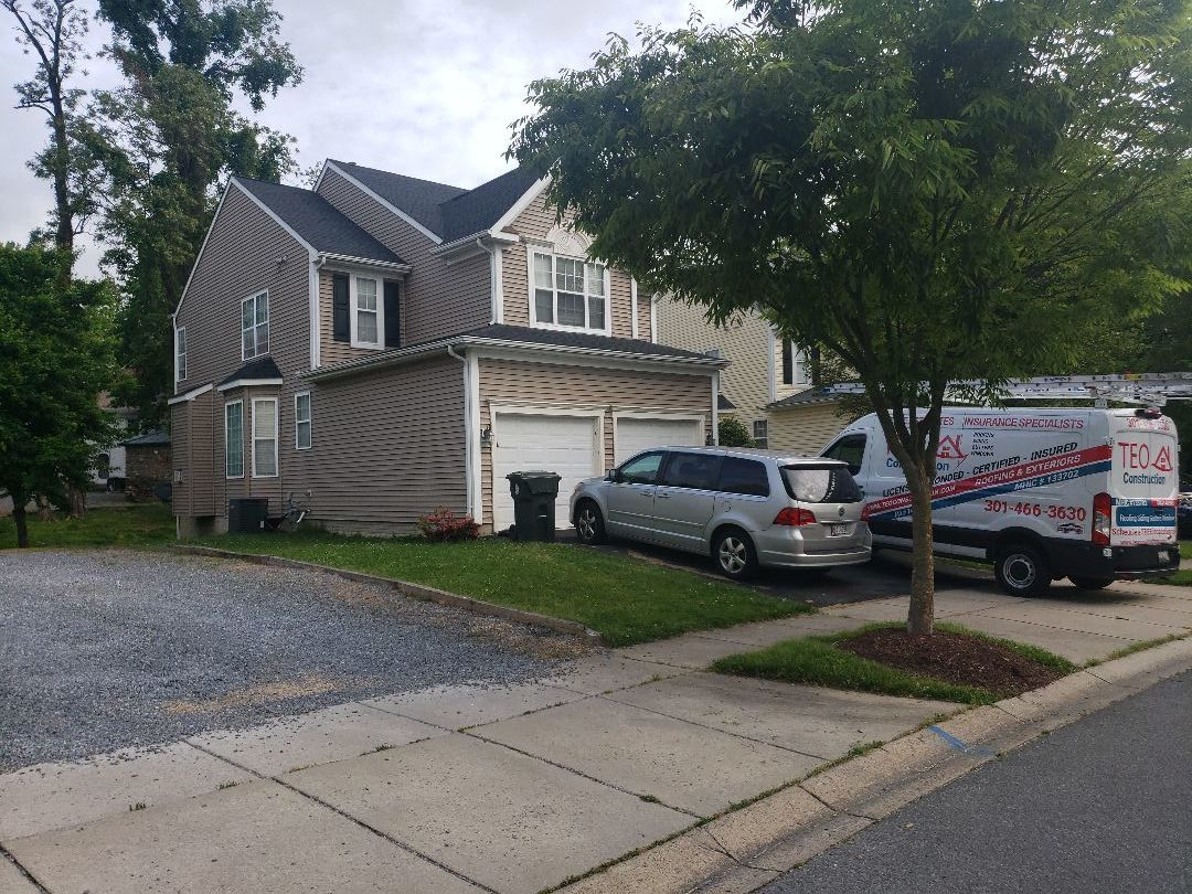 Frederick, MD - Roof Replacement covered by homeowner insurance.