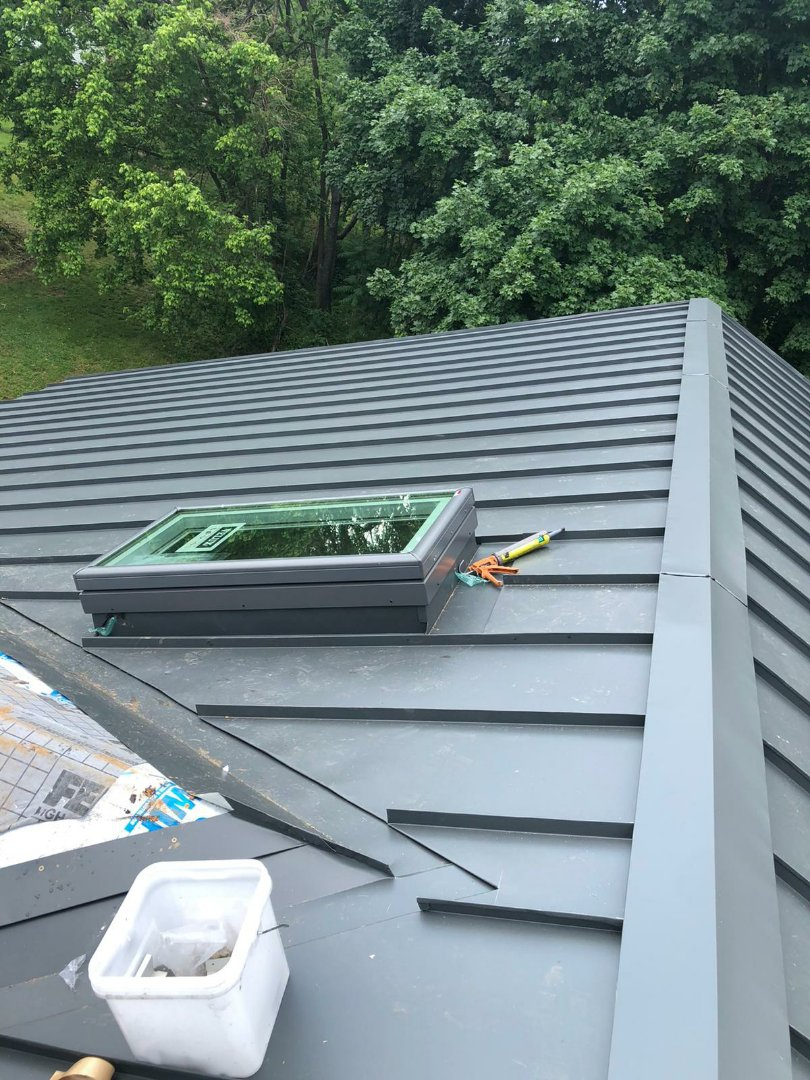 Fort Washington, MD - Metal roof Replacement