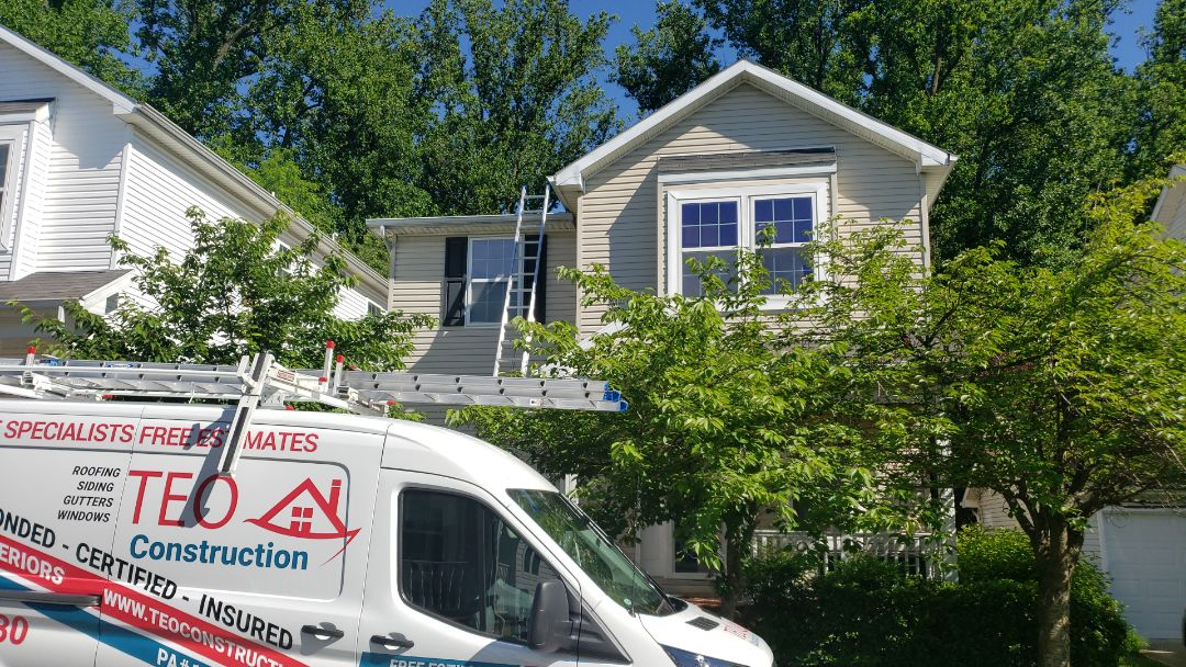 Boyds, MD - Roof and gutters. Replacement.