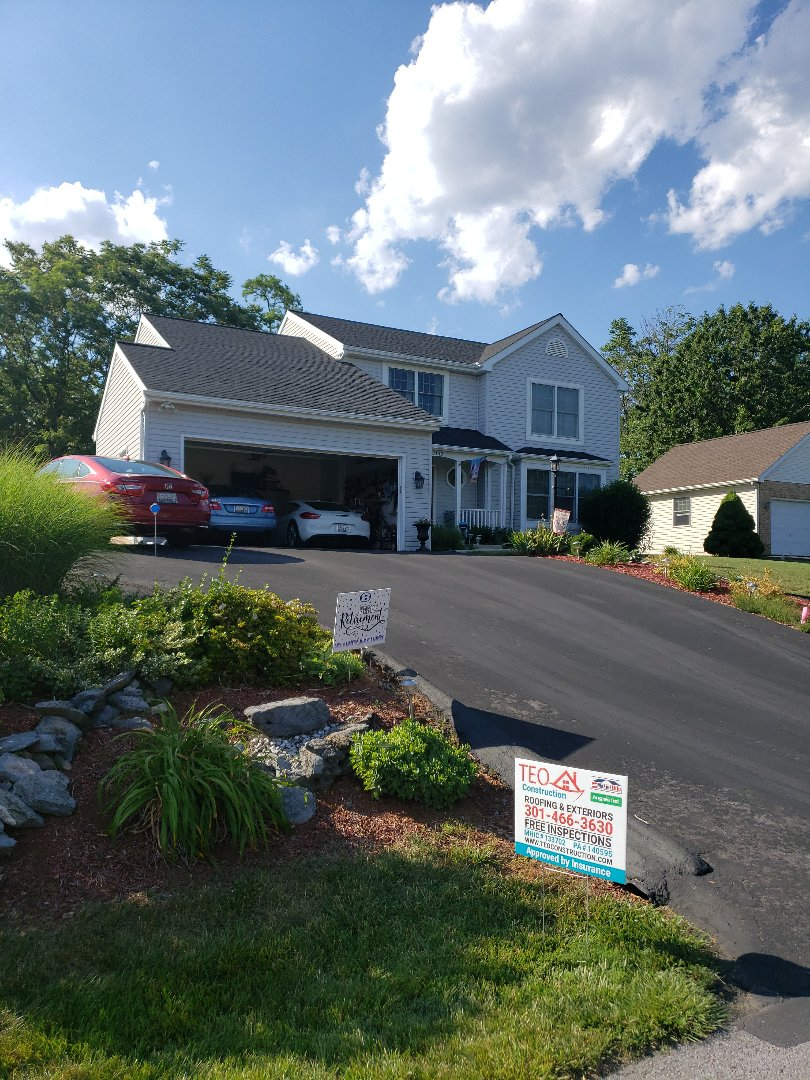 Boyds, MD - Roof and gutters Replacement