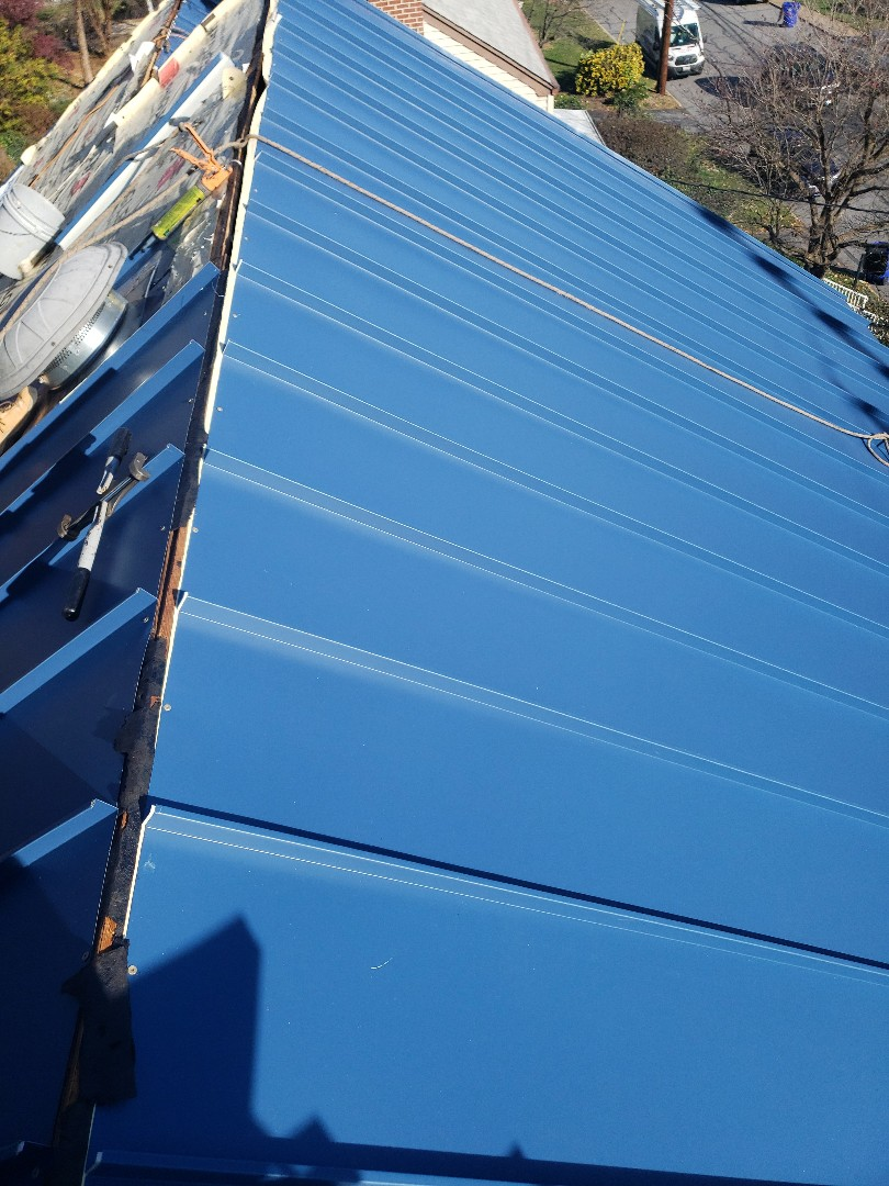 Frederick, MD - Metal Roof Replacement