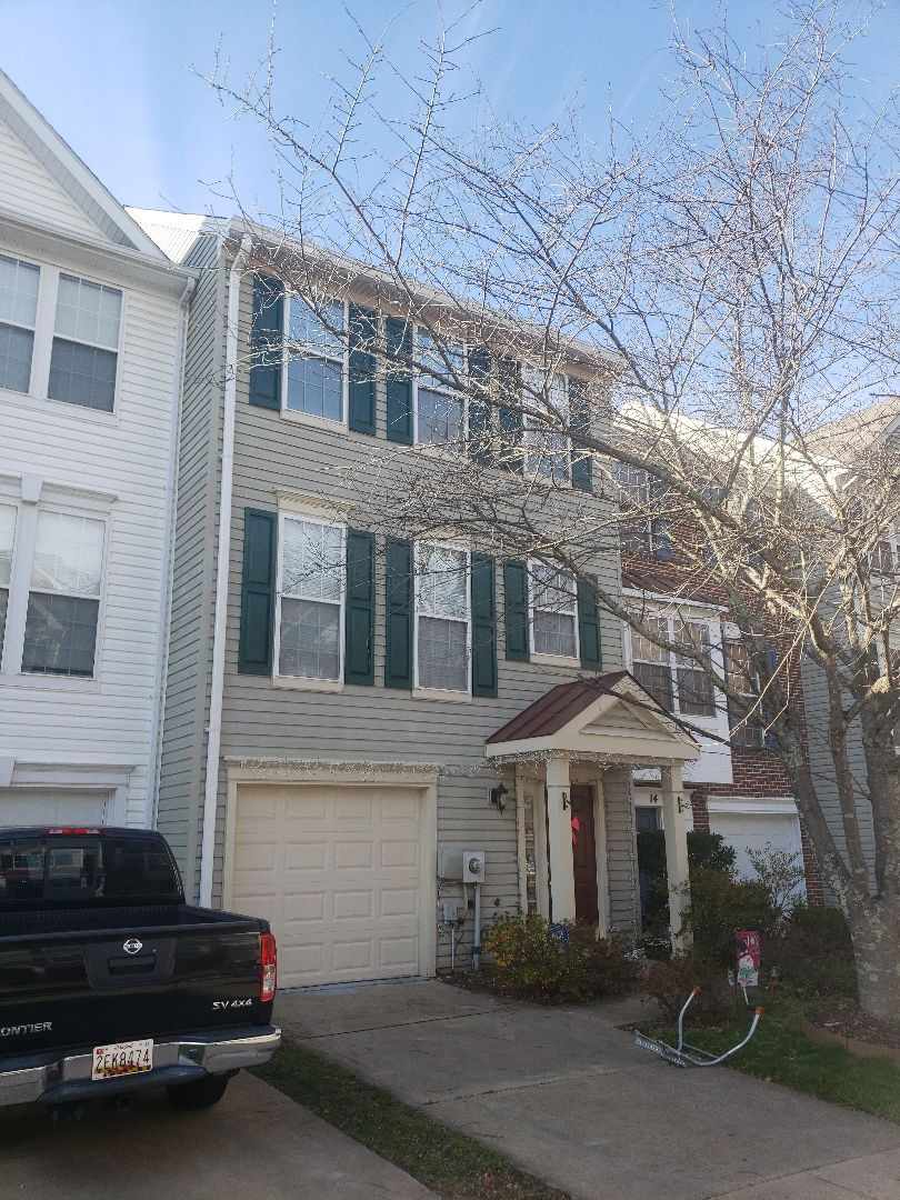 Germantown, MD - Roof, gutter, downspout and gutter cover system replacement