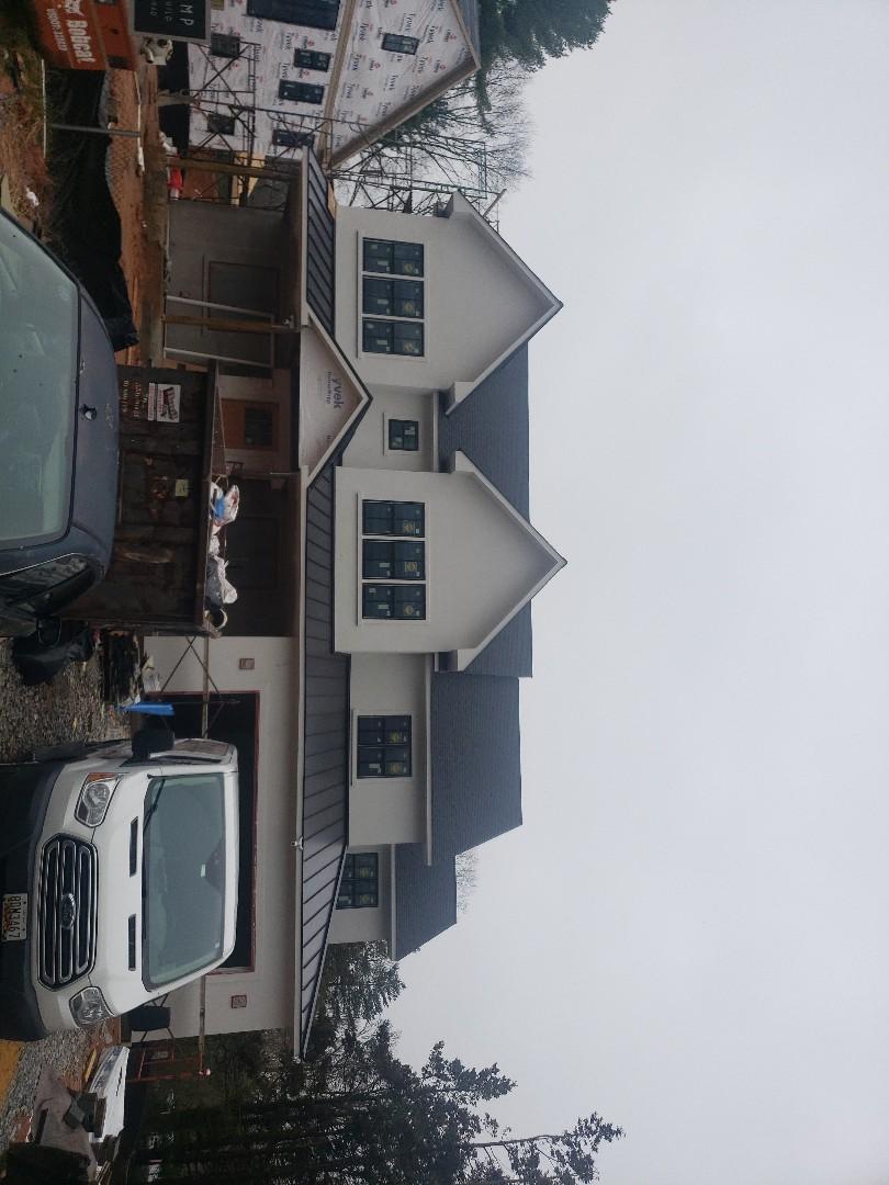 Rockville, MD - Standing Seam Metal Roof. Color Black.
