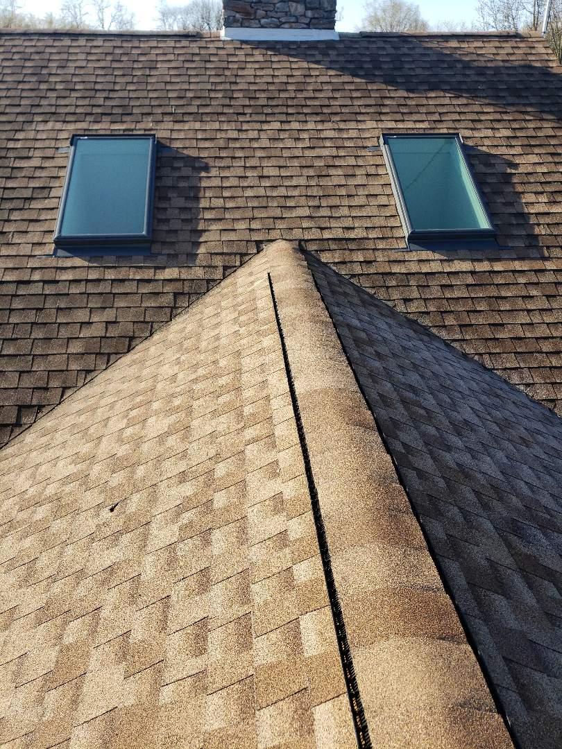 Gettysburg, PA - Ridge Vent Replacement  Roof repair.