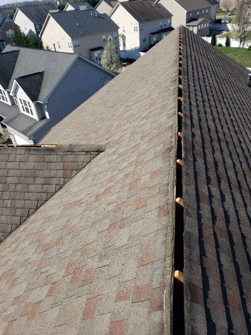 Frederick, MD - Ridgevent Replacement Roof repair