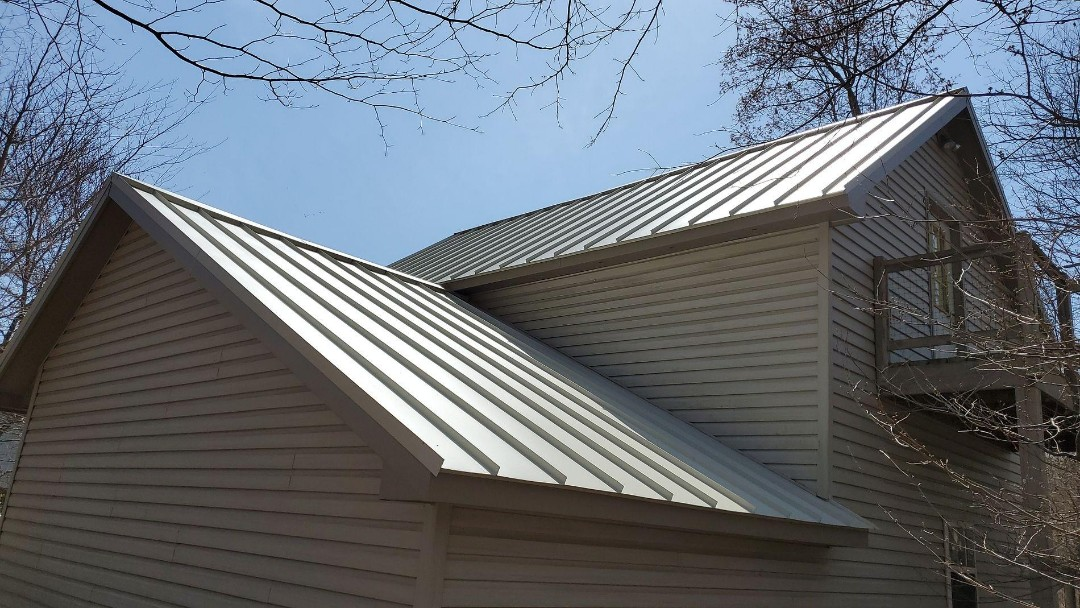 Westminster, MD - Englert Standing Seam Metal Roof Replacement