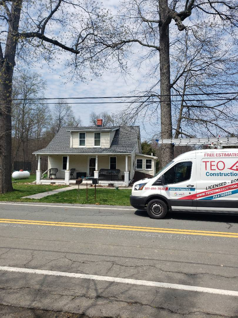 Thurmont, MD - Roof Replacement, Siding, gutters and windows replacement
