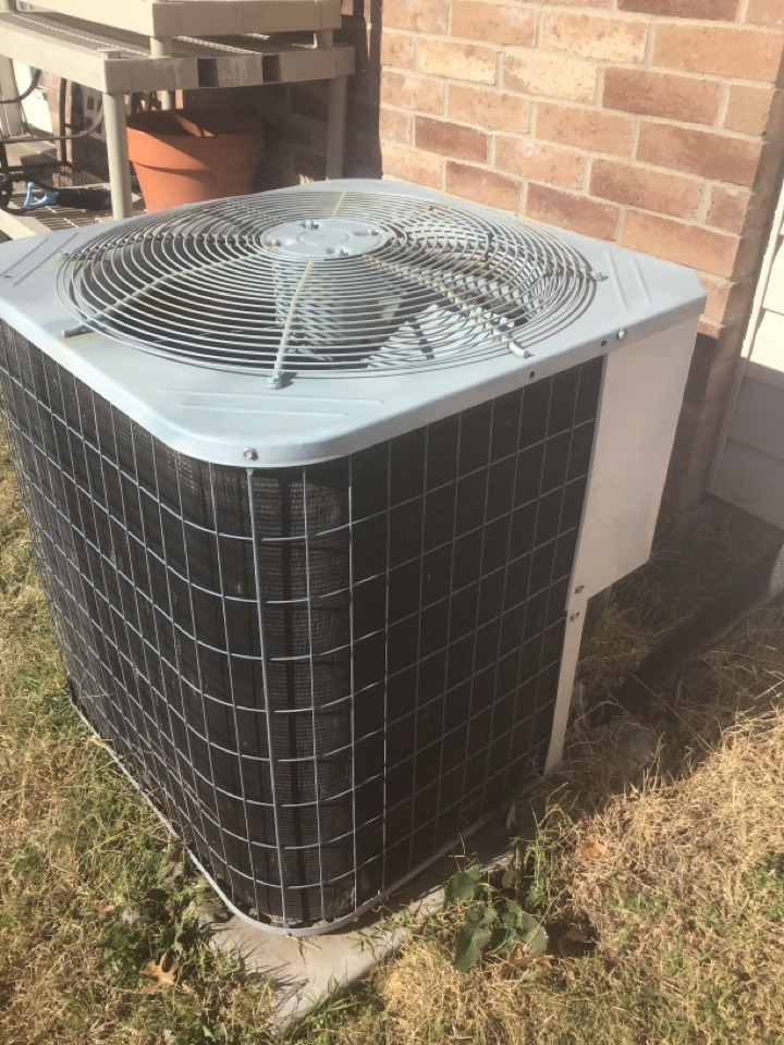 Anna, TX - Heating HVAC repair Heat pump repair for the Hansen family, Anna