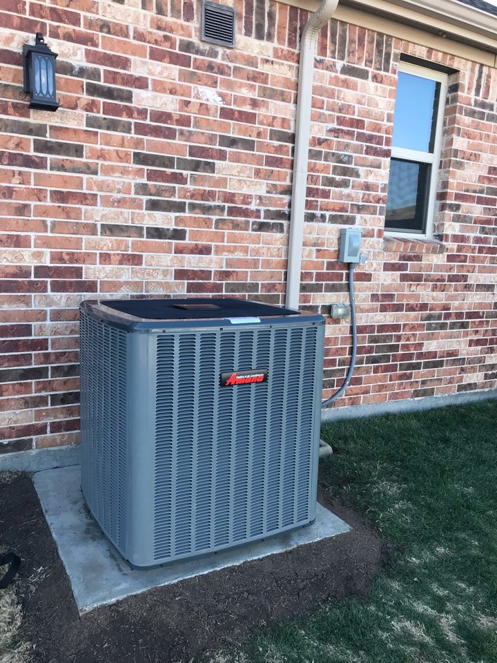 Anna, TX - getting the home worry free for at least 10 years.  Full system plus UV light for the best home comfort and air quality.  Anna Texas. Thank you for choosing Adon Complete.