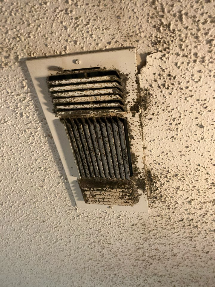 Denison, TX - Air duct cleaning.