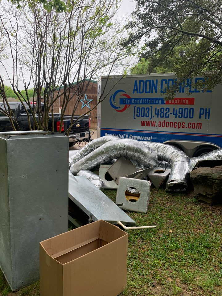 McKinney, TX - Duct work replacement