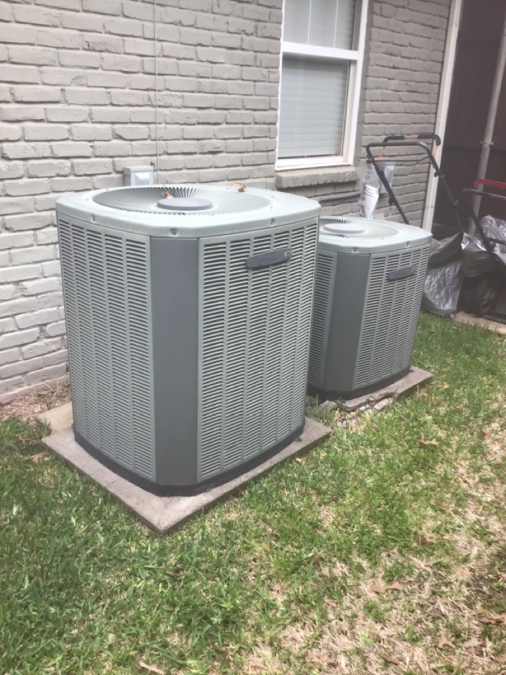 Plano, TX - Spring safety check on two units for the Harris family, Plano