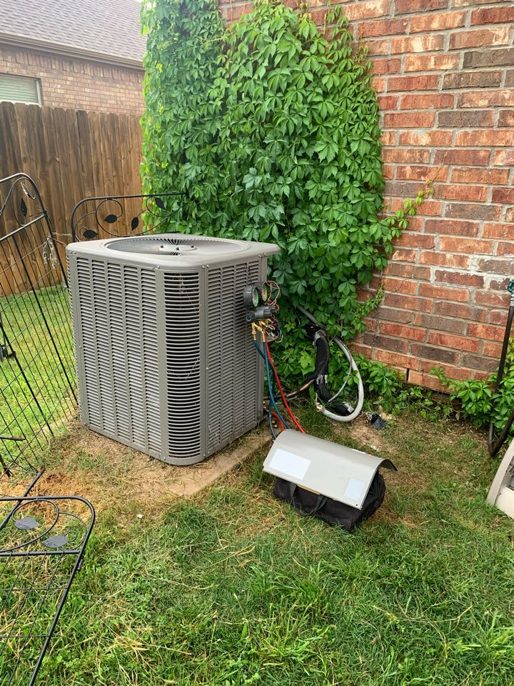 Anna, TX - Complete system AC heat pump converting to zone cooling.