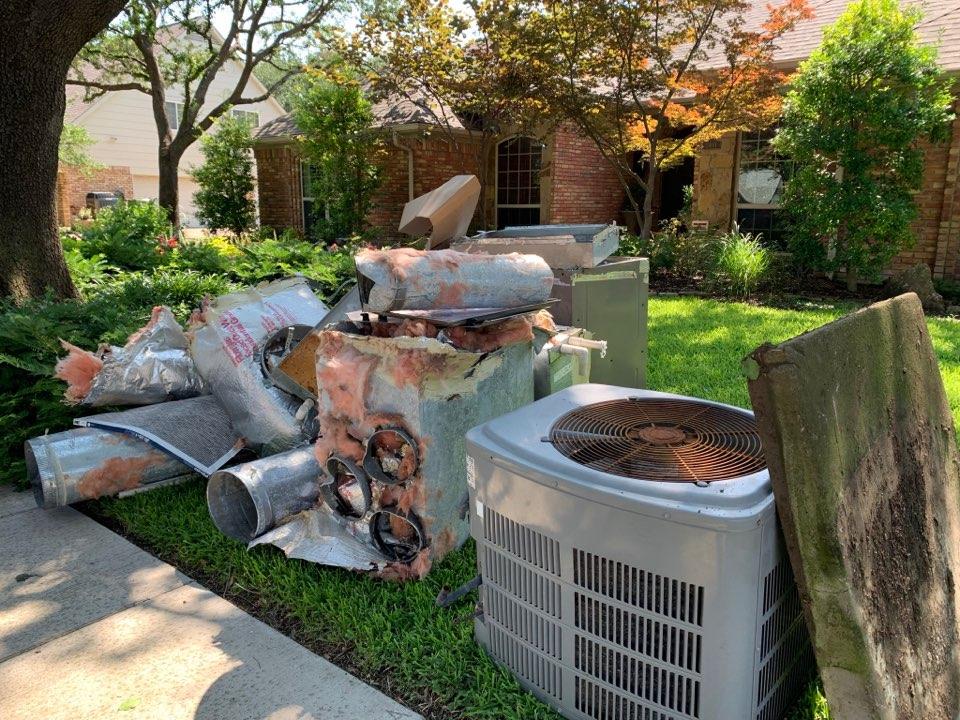 McKinney, TX - HVAC complete system installation
