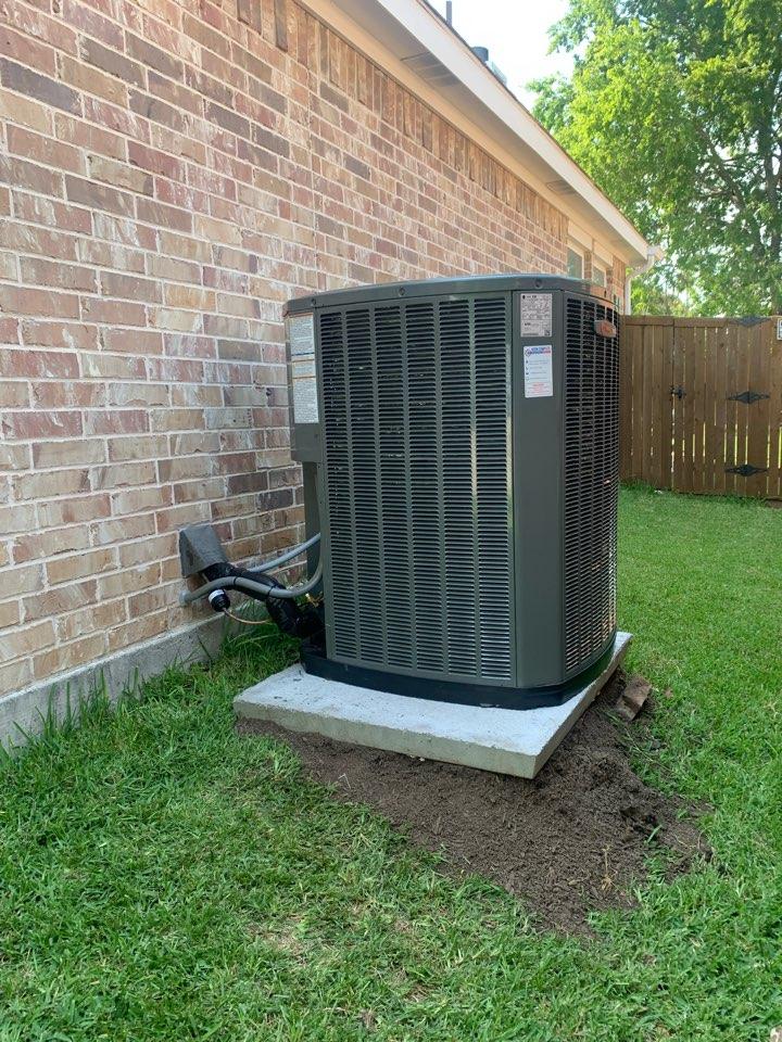 McKinney, TX - Emergency AC system installation