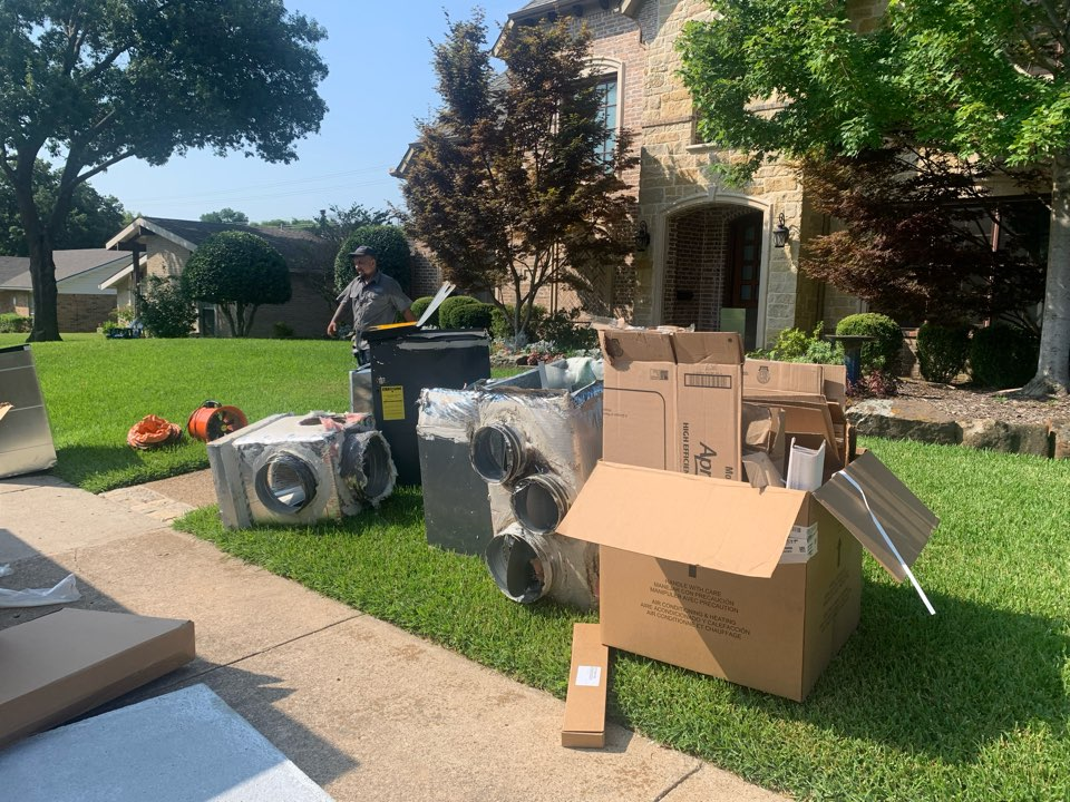 Dallas, TX - AC system upgrade. Total in Replacement