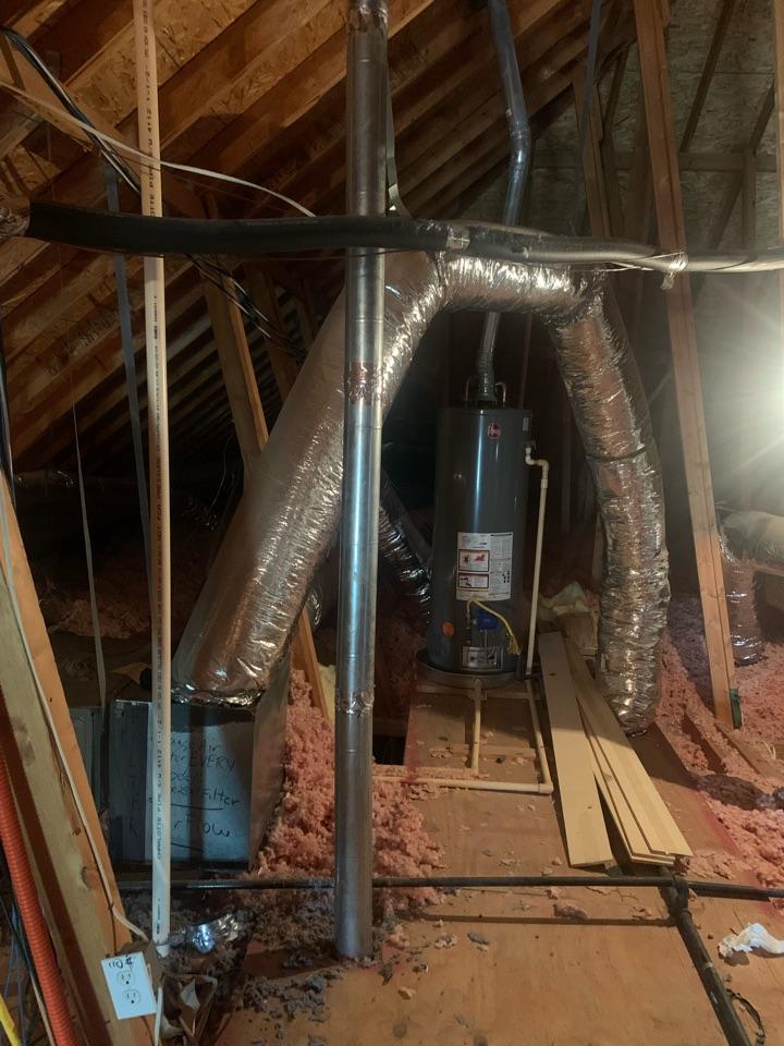Van Alstyne, TX - Air duct cleaning. Georgetown