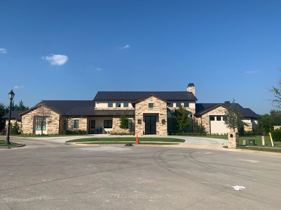 McKinney, TX - New construction project complete AC system