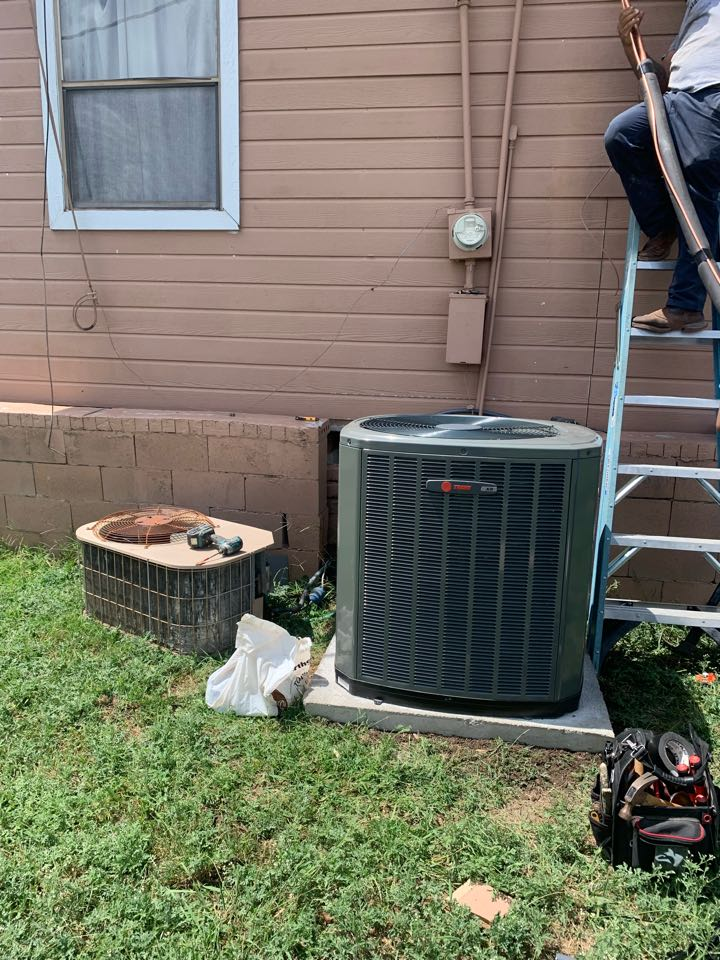 Anna, TX - AC system complete replacement