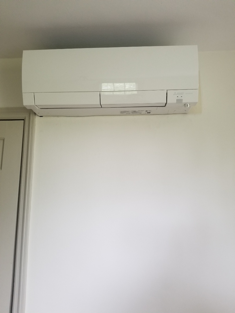 Kennett Square, PA - Mitsubishi ductless heat pump installation