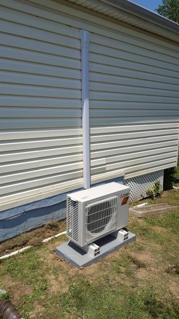Ridley Park, PA - New Mitsubishi Hyper Heat Installation!