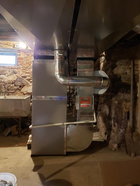 Kennett Square, PA - 95% Bryant furnace with a Bryant Heat Pump