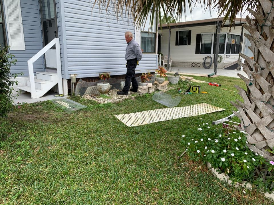 Rodent trapping and exclusion fort pierce Florida
