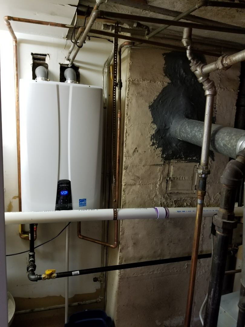 Queens, NY - Tankless hot water heater installation