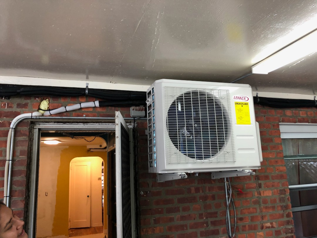 Queens, NY - Lennox ductless installation