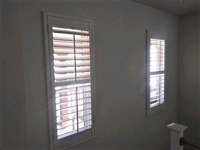 Ventura, CA - Installed these basswood shutters in Ventura.