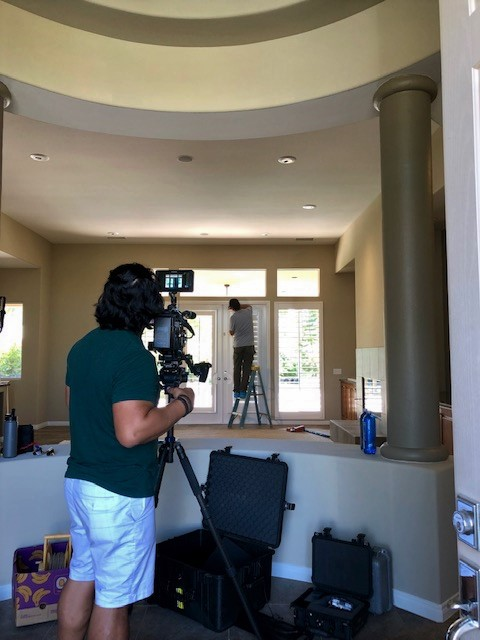 Rancho Mirage, CA - Installed an entire house of shutters for this repeat client. Promo video of installation.