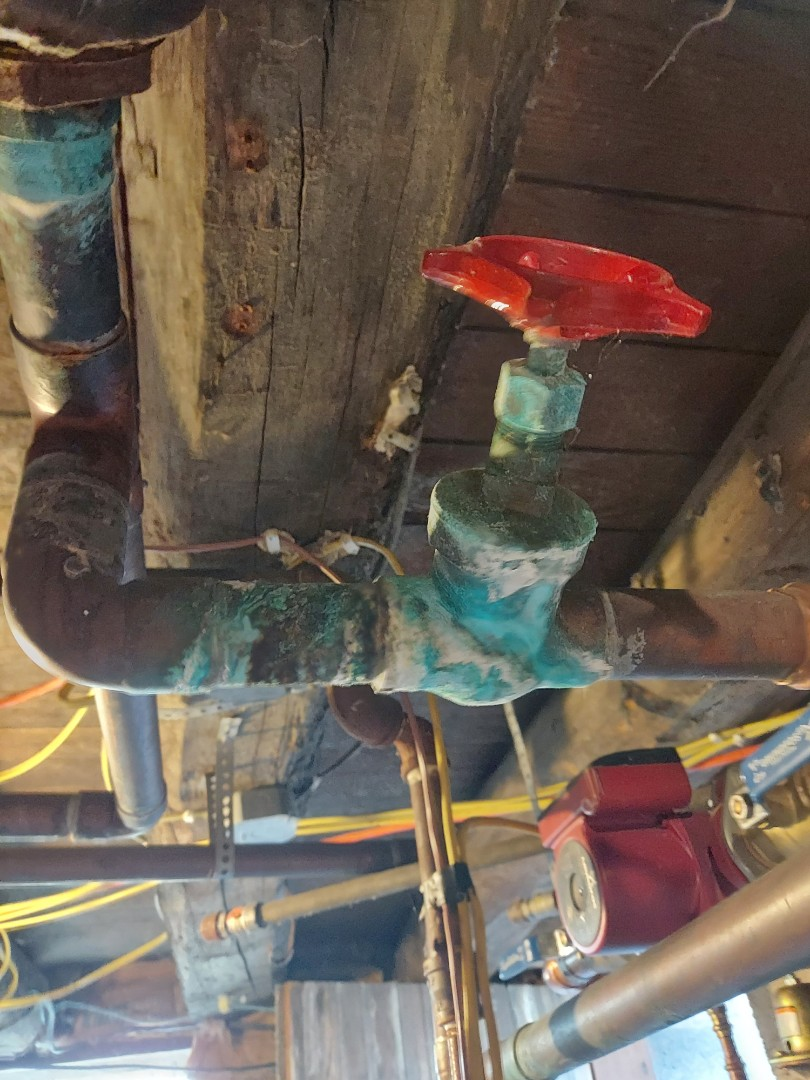 Montpelier, OH - Customer had two leaks on the boiler. Fixed leak and verified the boiler was in good working order.
