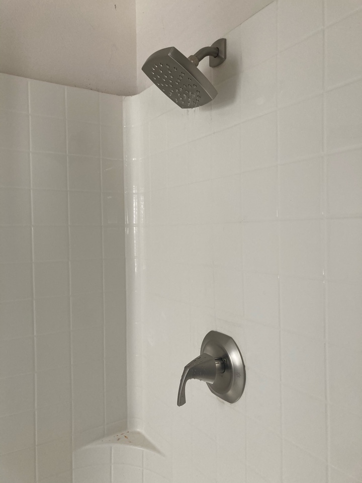Oxnard, CA - Installed new shower valve.