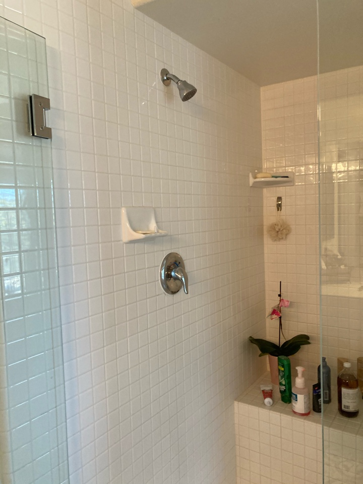 Ventura, CA - Plumber installed new moen position temp shower valve with trim.
