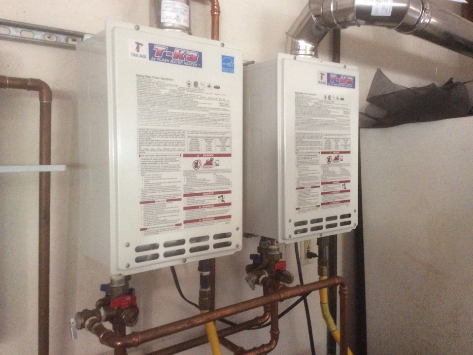 Moorpark, CA - Plumber called for trouble shooting tankless water heater