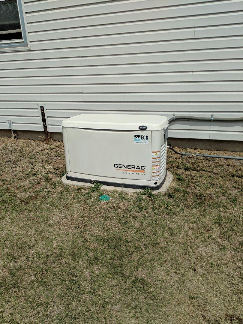 Cheney, KS - Performed a full Generac generator service
